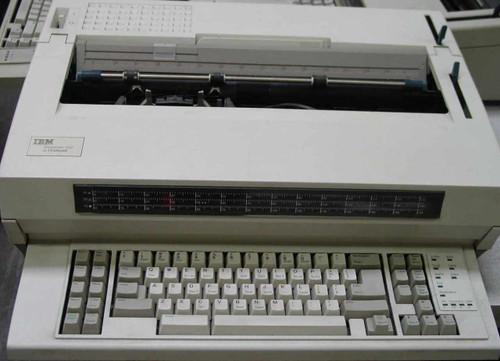 IBM/Lexmark Wheelwriter 1500  P/N 6783-009 Typewriter