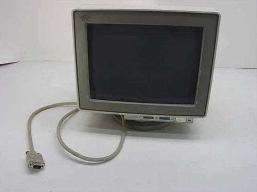 "IBM 8504  12"" Monochrome Monitor 640X480 Heavy Burn"