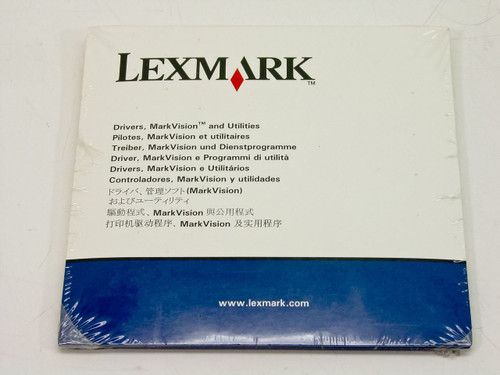 Lexmark 11K3775  Optra T Drivers MarkVision and Utilities CD