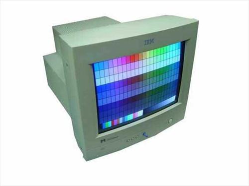 "IBM  6546-Q0N  15"" SVGA Microtouch Touchscreen Monitor"
