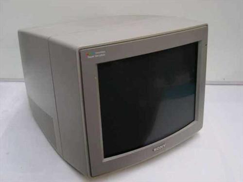 "Sony CPD-1302  14"" EGA/CGA Monitor no base"
