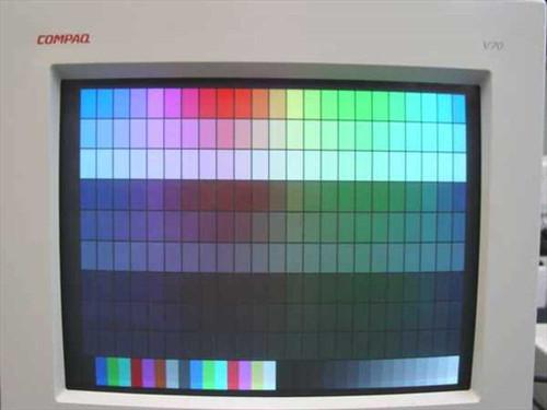 "Compaq V70  17"" MONITOR .28 1280X1024 Model 620 spares 255609"