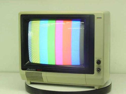 """Amdek Color-I  15"""" Color Monitor RCA Jack Input"""