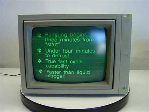 """Apple A2M6017  12"""" Monochrome Monitor RCA Connectors"""