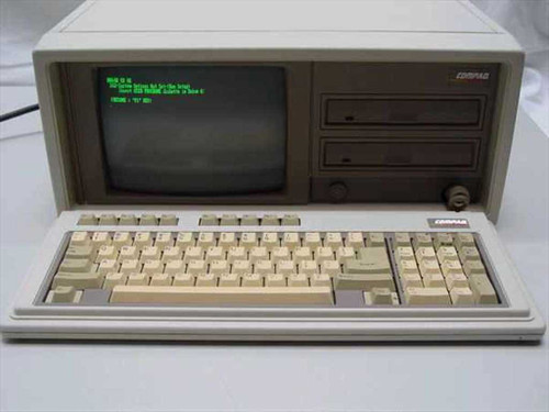 Compaq 2650  286 Portable II computer