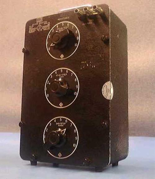 General Radio 1490A  GenRad Decade Inductor Standard