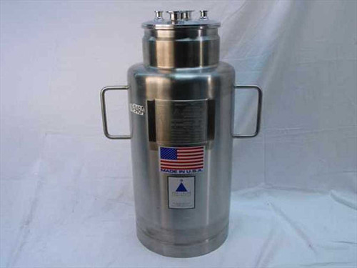 Precision Stainless VX 946B  Stainless Steel Vessel with Stand