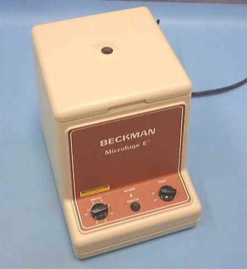 "Beckman Microfuge  Beckman Microfuge ""E"" Centrifuge"