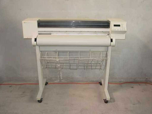 """HP C2848A  DesignJet 600 36"""" Inkjet Plotter with Stand"""