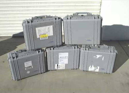 Pelican 1550  Lot of 5 - 20x17x8 Watertight Shipping Cases