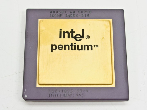 Intel SX948  P1 60Mhz Processor - A80501-60 273-Pin PGA