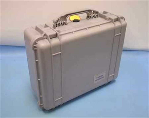 Pelican 1550  20x17x8 Watertight Shipping Case - Silver Color