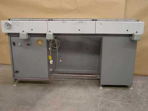 Total Technology S-02512  Inspection Conveyor w/Sysmac Controller