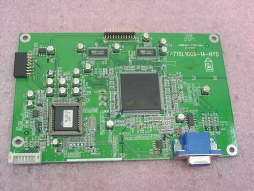 ST Microelectronics LCD Display Engines Intergrated VGA Ports ADE3000SX
