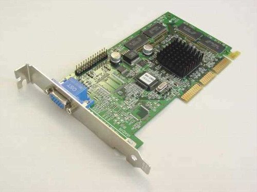 Vision tek inc. AGP Video Card - 1 Rev. C - no heat sink (NV996.0)