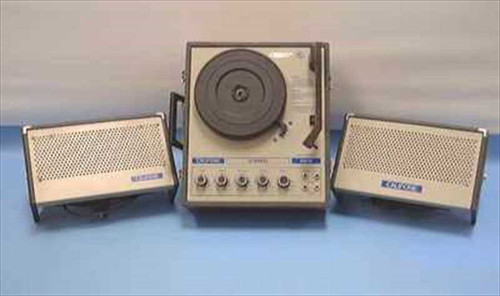 Califone 1130K  Portable Stereo Record Player