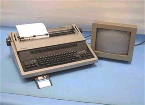 Panasonic KX-E700m  Panasonic Electronic Typewriter (parts unit)