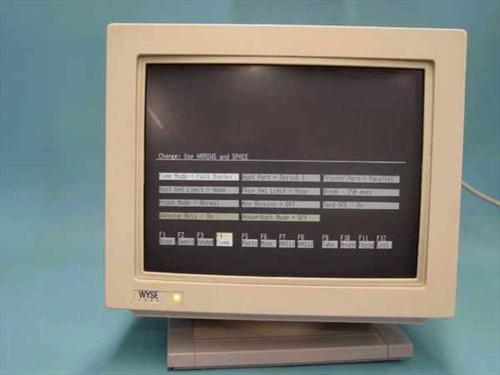 Wyse WY-160  Terminal Wyse - 900985-04 - White-Lite Screen Burn