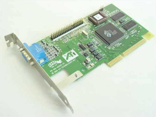 ATI AGP Video Card Rage IIC 4MB (109-49300-01)