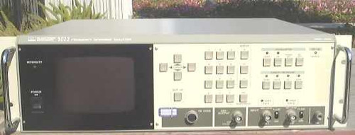 NF 5020  Frequency Response Analyzer