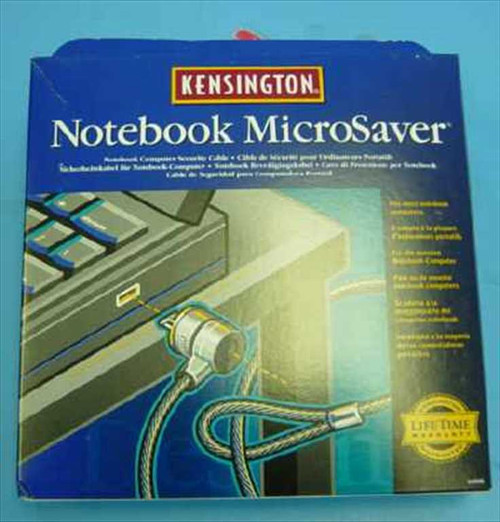 Kensington 64068  Microsaver Notebook Computer Security Lock & Cable