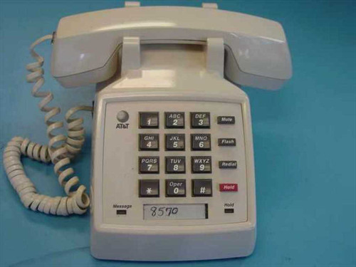 Lucent 2500 YMGL  AT&T Single Line Telephone w/Feature Button - 9425