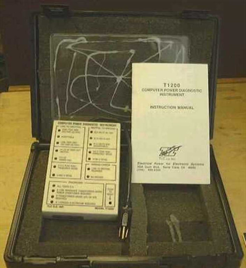 TLC  T1200  Computer Power Diagnostic Instrument
