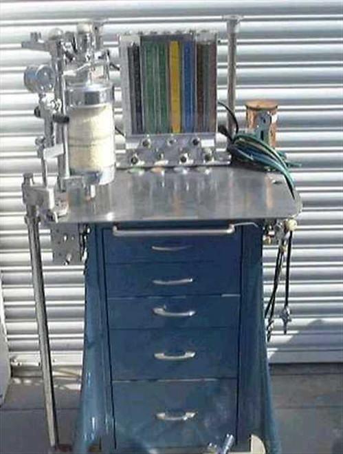 Foregger 910  Anesthesia Vaporizer Machine / Flow Gauges