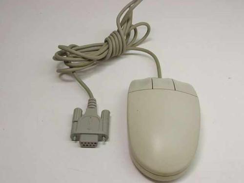 Logitech M-M35  3 Button 9-pin Serial Mouse - Vintage