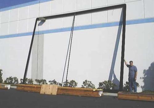"Stewart 18x24 Frame  18' x 24' Projection Screen Frame 4"" cc"