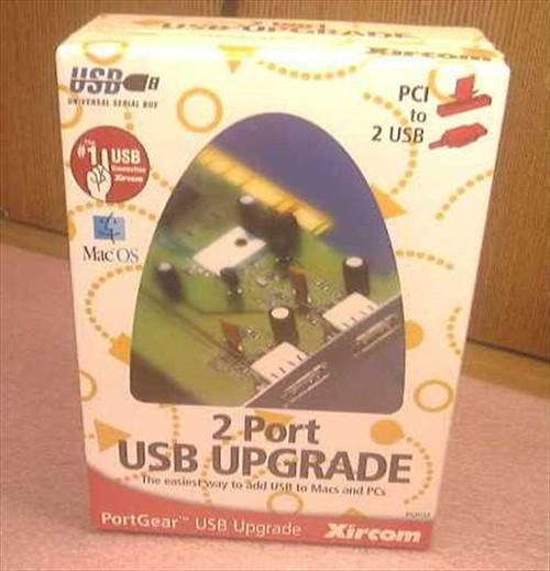 Xircom PGPCI2  PCI 2-port USB Upgrade Card PC/MAC