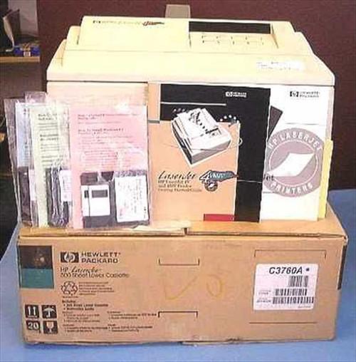 HP C3142A  4MV Laserjet Printer w/ Software & Manual