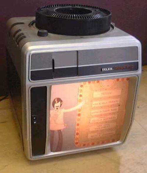 Telex Caramate 4120  Portable Slide Projector Viewer