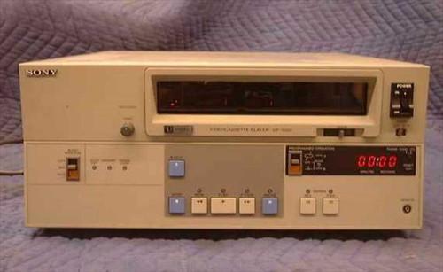 "Sony VP-7020  3/4"" U-Matic Video Tape Player"