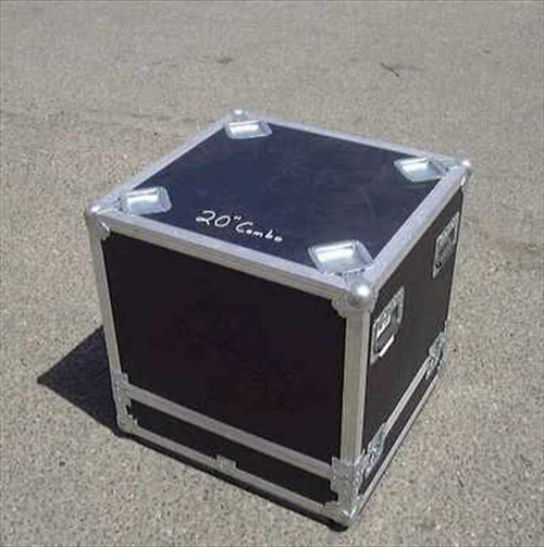 Nelson Baldwin 24w25.5d26.5h  ATA Flight/Road Case - Casters removed