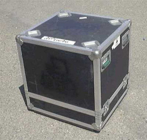 Nelson Baldwin 24w25.5d27h  ATA Flight/Road Case - Casters removed