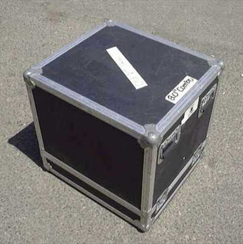 Nelson Baldwin 22w24.5d24.5h  ATA Flight/Road Case - Casters removed