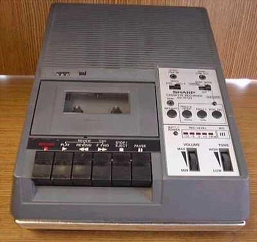 Sharp RD-771AV  Slide Sync Cassette Tape Recorder / Player