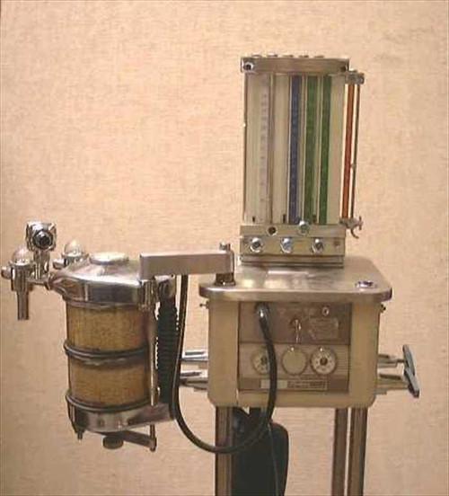 Ohio Anesthesia  Compact Anesthesia Vaporizer Ventilator