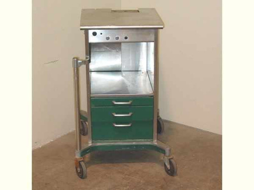 Ohio 2333 L  Stainless Steel Cabinet w/ Drawers and Casters