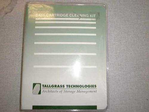 "Tallgrass Technologies TG-HC6000  Data Cartridge Cleaning Kit for 1/4"" DC6000 Tape D"