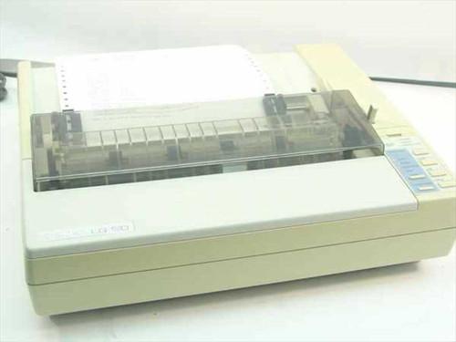 Epson LQ-510  Dot Matrix Printer - Missing Back Plastic & Paper