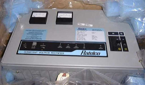 Ratelco FF1263-A  Constant Voltage battery charging system Rectifier
