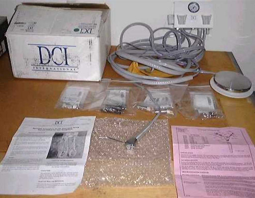 DCI International 4102  Control for two handpieces w/Quick Clean Syringe.