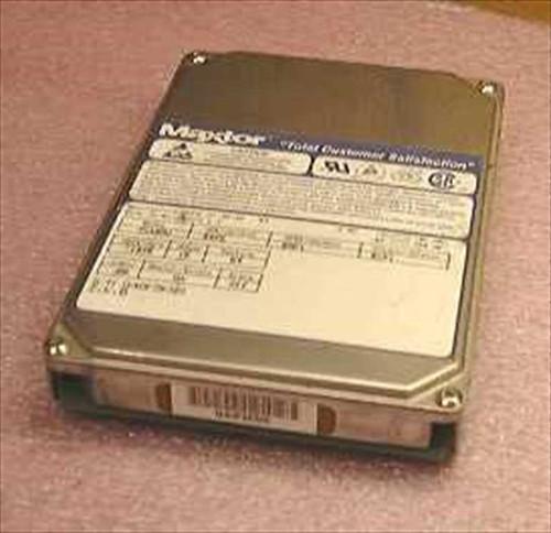 """Maxtor 7540AV  540MB 3.5"""" IDE Hard Drive"""