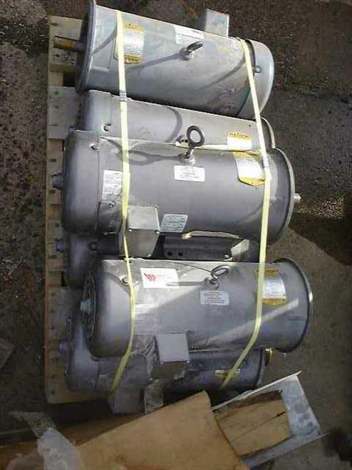 Baldor CD6203  3 HP Electric Motors 1750 RPM