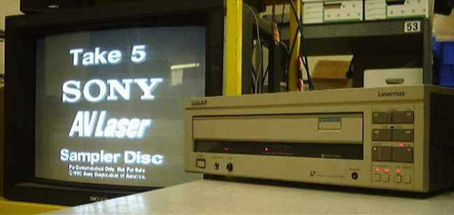 Sony LDP-2000  LaserMax Laser Disc player