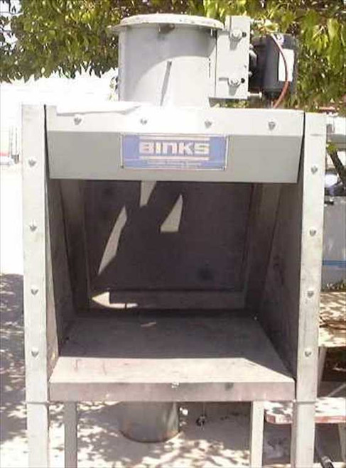 Binks Paint Booth  Paint booth standup model