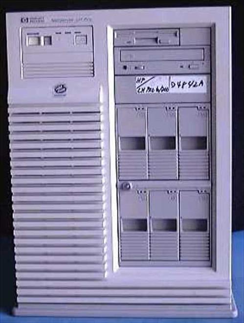 HP D4304  P1 166mhz 5/166 NETSERVER LS2