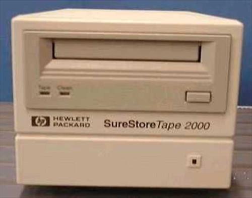 HP C1520-60013  SureStore SCSI Tape 2000 2GB DAT Drive, External